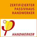 Wintec ist Zertifizierter Passivhaus-Handwerker